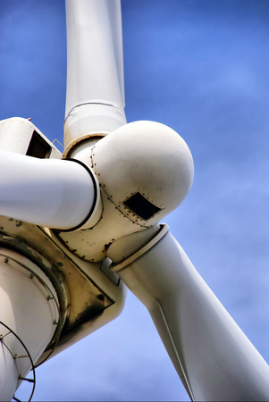 Wind wheel - A close up of a wind wheel