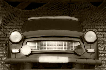 Oldtimer - An old smal car from GDR