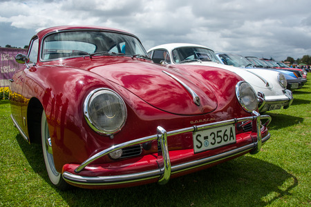 Auckland New Zealand February 12 2017 Porsche Vintage Cars