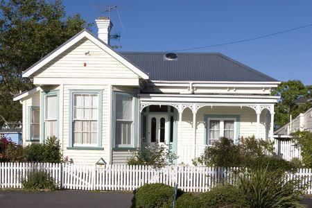 Historic villa in Devonport Auckland Imagens