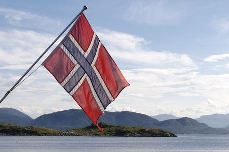 Norwegian Flag Imagens - 561044