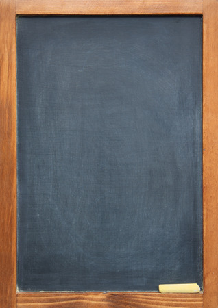 blank chalkboard: blank slightly dirty blackboard