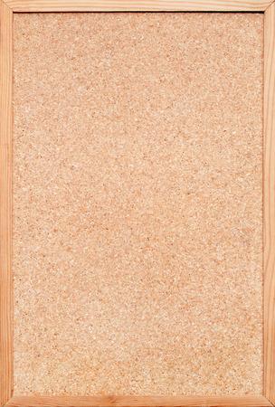 bulletinboard: blank corkboard  bulletin board with a wooden frame