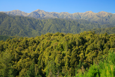 Tararua mountain ranges Levin New Zealand