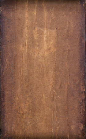 antique paper: very old brown and wrinkled antique paper