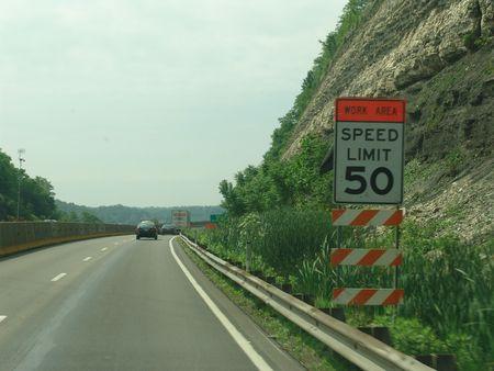 snelheidsbeperking ondertekenen