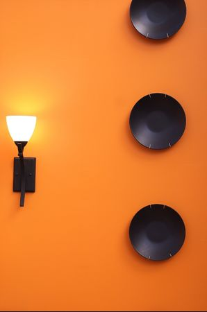 interior design - wall decor 版權商用圖片
