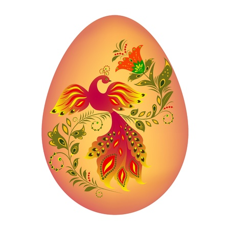 Illustration of colorfull easter egg Vector