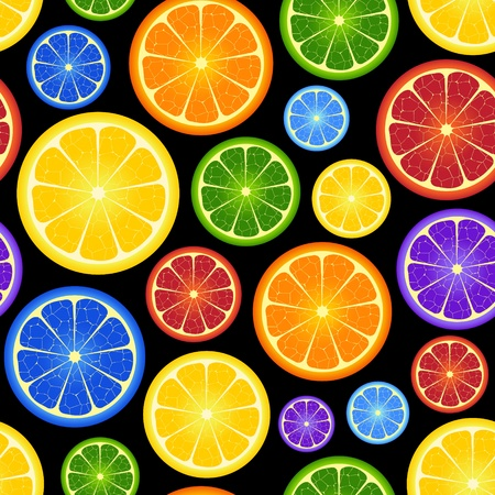 Illustration von nahtlosen orange Hintergrund Vektorgrafik