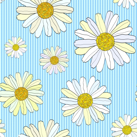 illustration of seamless flowers pattern  Floral background Stock Vector - 13994142