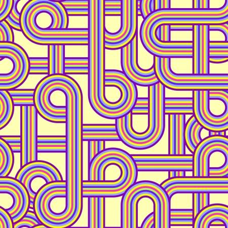 Illustration of abstract seamless pattern Stock Vector - 14658990