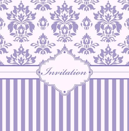 ilustración de la tarjeta de invitación (o coloque su texto)
