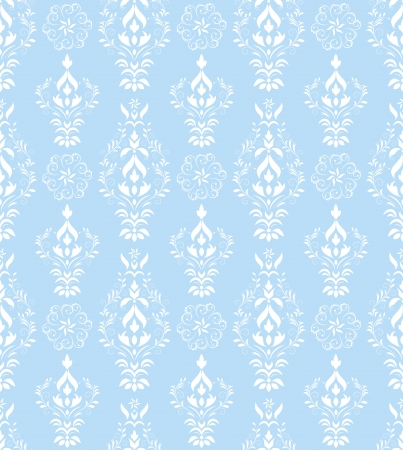 Vector illustration of damask seamless pattern Vector