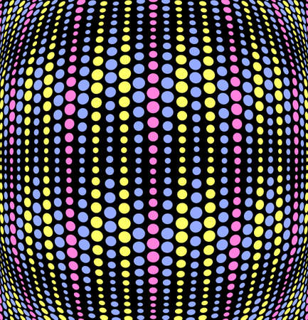 Vector illustration of colorful dotted background Stock Vector - 22231121