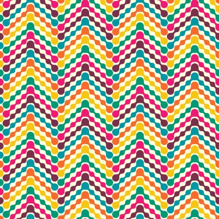 Vector illustration of abstract colorful seamless pattern Vector