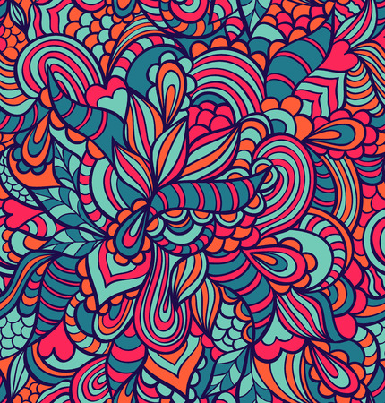 illustration of colorful abstract seamless pattern Vector