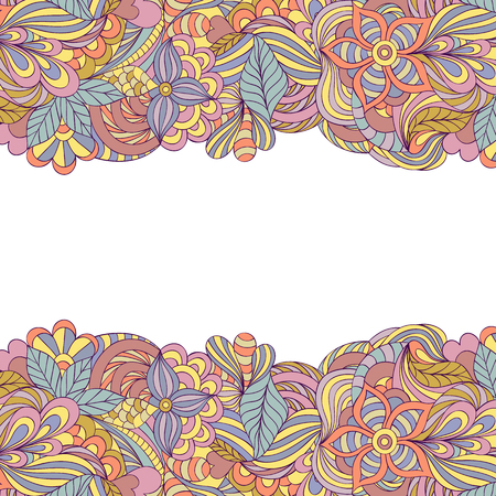blumen abstrakt: Vector illustration of floral abstract pattern.Abstract background.