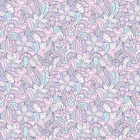 Illustration von bunten abstrakte nahtlose Muster pattern.Floral Standard-Bild