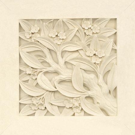 石の彫刻 写真素材