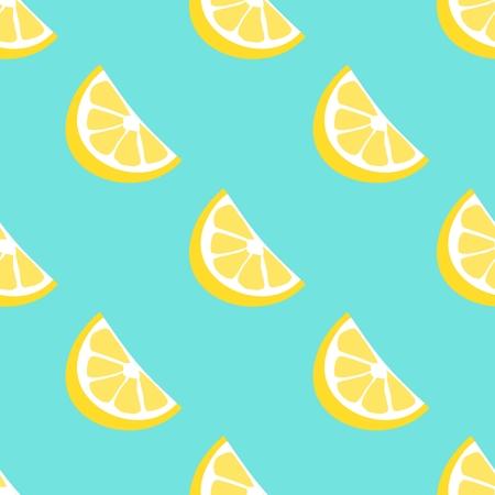 Lemon seamless  pattern. Illustration