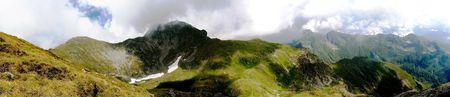 capra: panoramic of lake capra Stock Photo