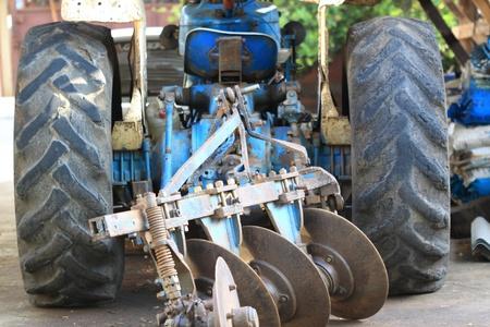 Tractors in thailand photo