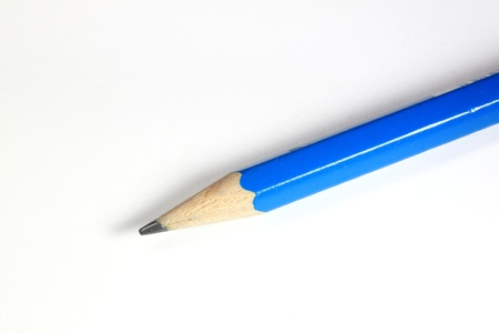 Pencil with white background photo