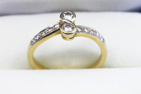 Wedding ring on a background photo