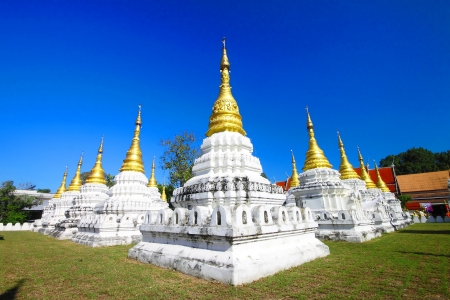 Wat chedi sao is the temple in Lampang,Thailand