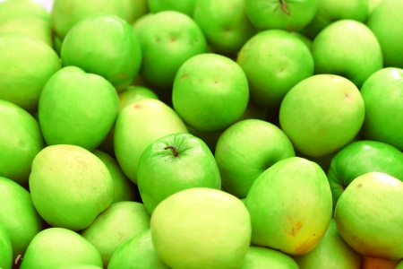 Green monkey apple fruit photo
