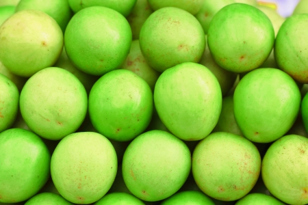 Green monkey apple fruit