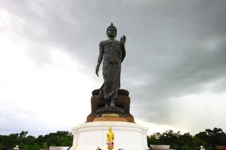 Big Buddha Statue, Puthamonthon,Nakhon Pathom, Thailand Stock Photo