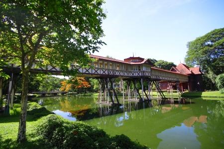 nakhon pathom: Sanam chan Palace, Nakhon Pathom Province,Thailand