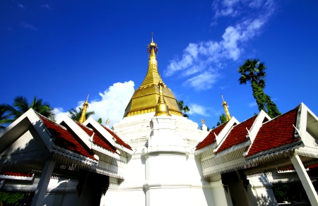 Wat Satsanachotikaram  Wat Pa Fang  , temple in Lampang Thailand photo