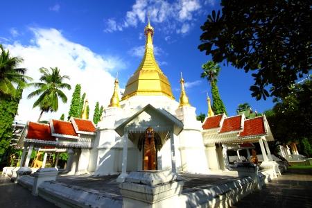 Wat Satsanachotikaram  Wat Pa Fang  , temple in Lampang Thailand