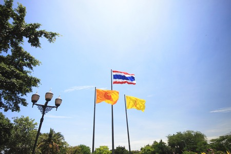 thailander: Big flag in thailand