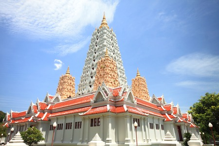 Pagoda of temple in Thailand