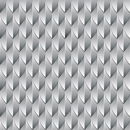 Pattern from dragon silvery scales. Ilustrace