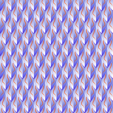 Violet metallic seamless pattern, reminiscent of the scales of the dragon. Illusztráció