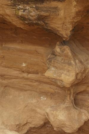 sandstone rock formation southern utah red rock