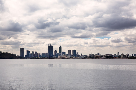 Cityscape in Perth, Australia. photo