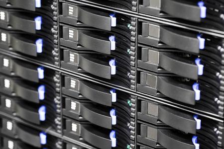 datacenter: SAN storage hard drives in large datacenter