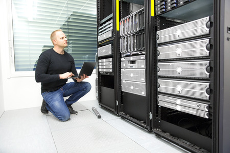 network server: It consultant monitors servers in datacenter