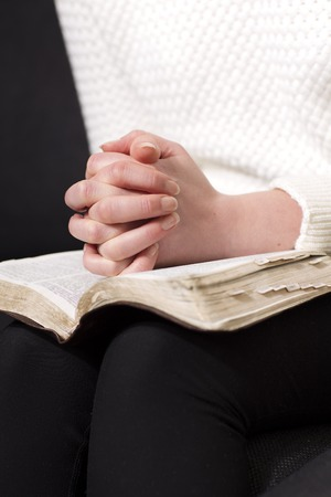 adulation: Reading the bible and pray