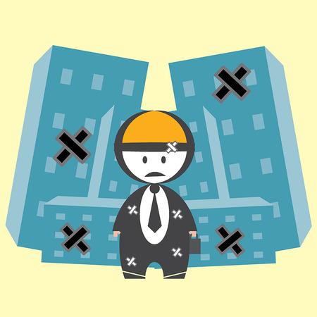 penniless: Bankrupt business