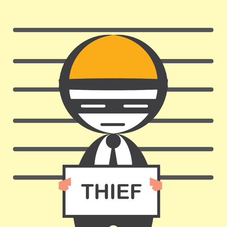 corruption business Vector
