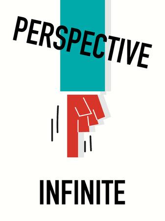 Word PERSPECTIVE Vector