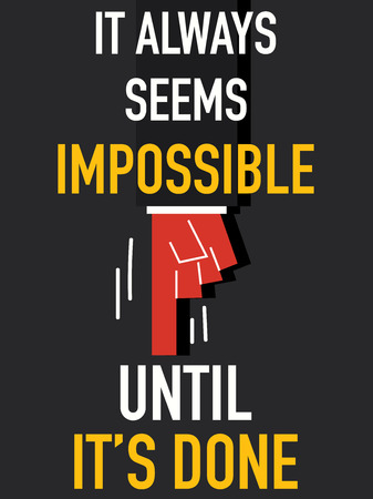Word IMPOSSIBLE