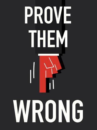 them: Parola dimostrare che si sbagliavano