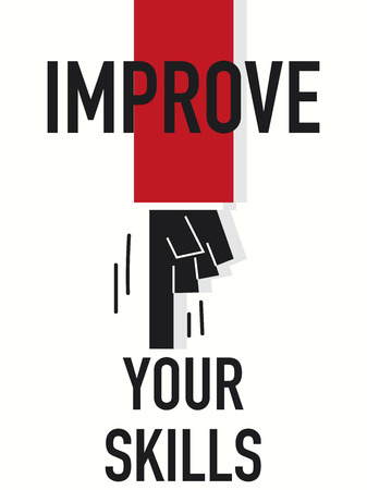 improve: Word IMPROVE YOUR SKILLS